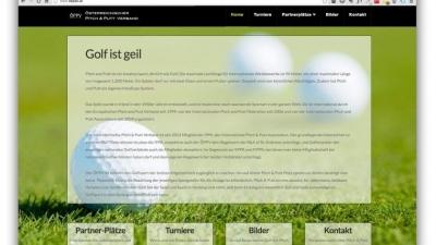 Webdesign für Golf
