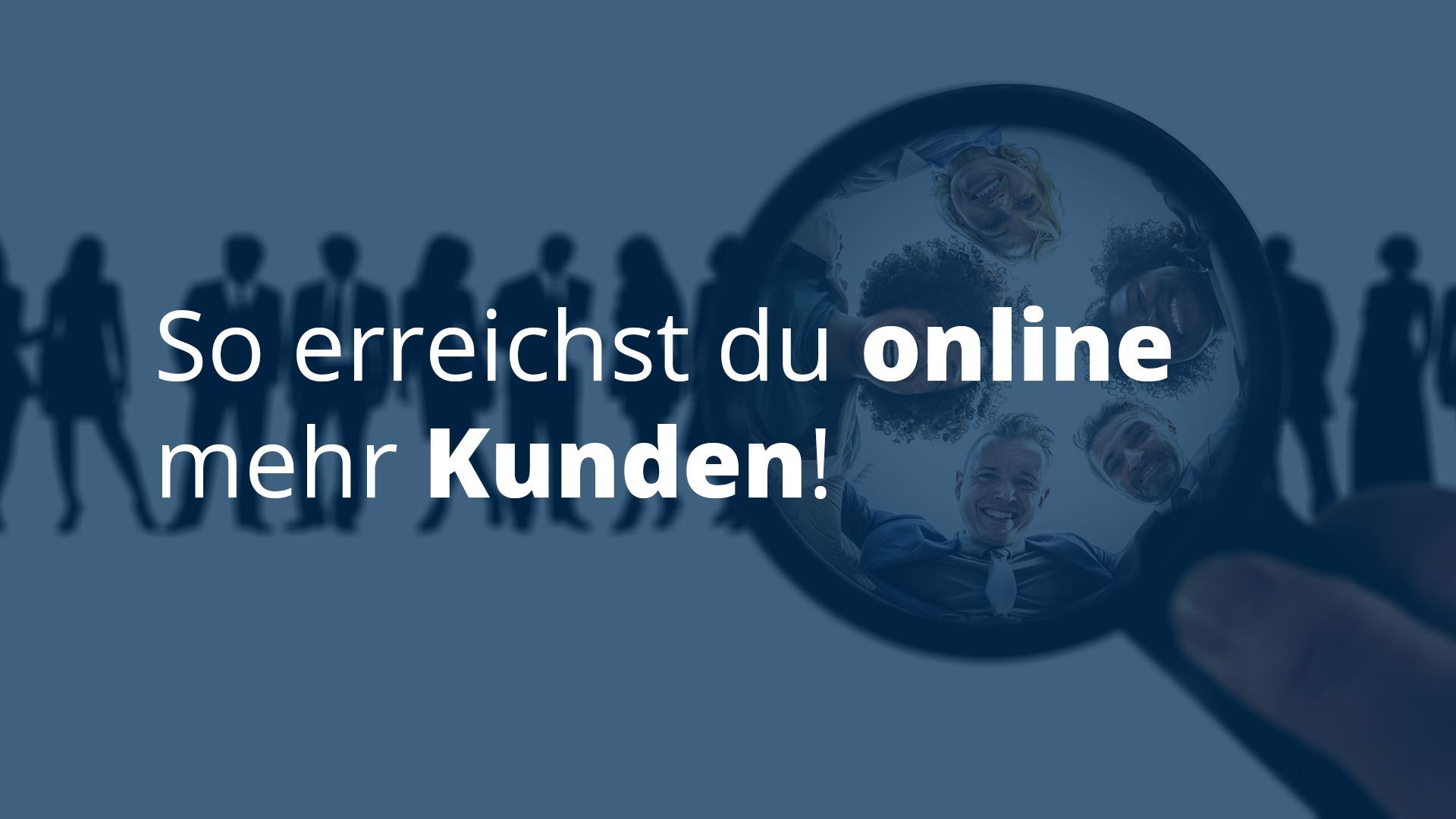 Online neu Kunden